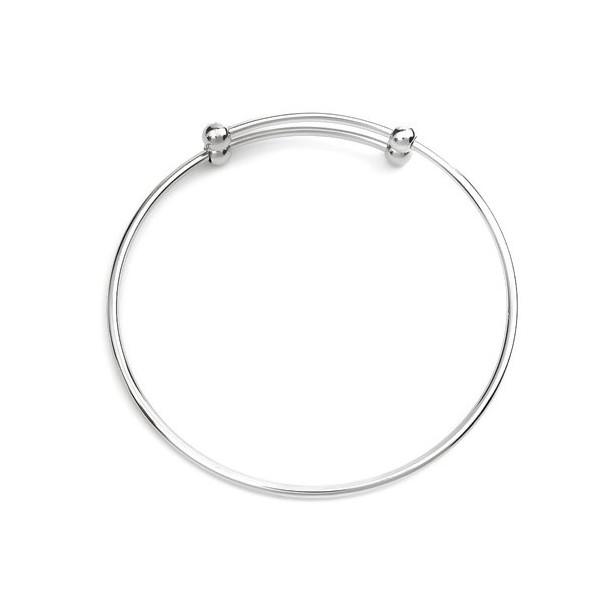 S110234269 PAX: 1 Support de Bracelet Jonc en ACIER INOXYDABLE 304 - Photo n°2