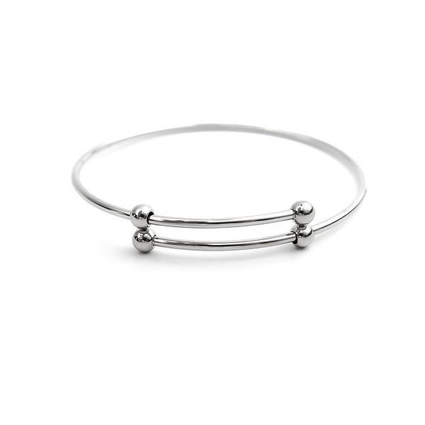 S110234269 PAX: 1 Support de Bracelet Jonc en ACIER INOXYDABLE 304 - Photo n°1