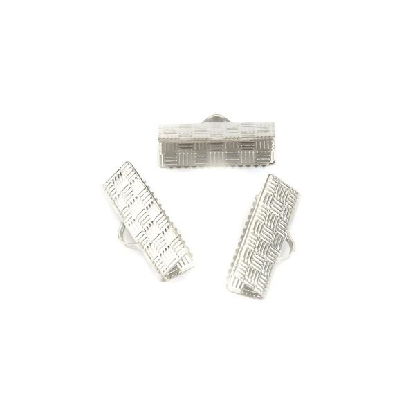 PS110223350 PAX 20 serre fils, griffes, attache ruban 304 ACIER INOXYDABLE 15mm x7mm - Photo n°1