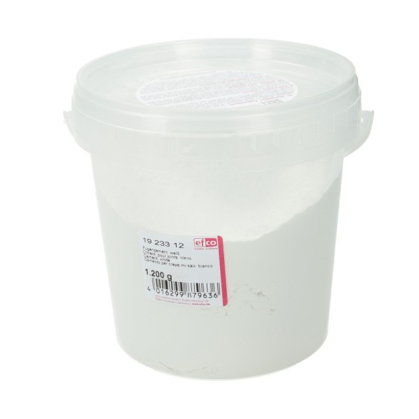 Ciment blanc pour joints de mosaïque ou de carrelage, Pot de 1200 g - Photo n°1