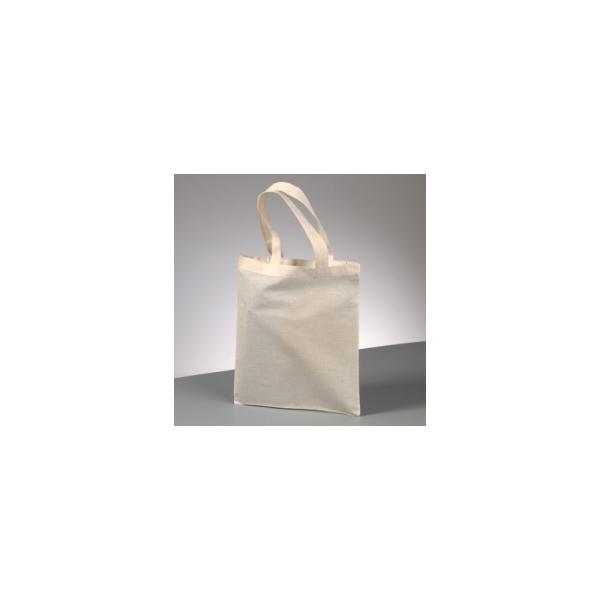 Sac en coton naturel, 28 x 24 cm, tote bag - Photo n°1