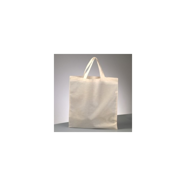 Sac en coton naturel, Cabas à customiser 38 x 42 cm - Photo n°1