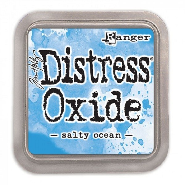 Encreur Distress Oxide  Ranger Industries - Salty Ocean - 7,5 x 7,5 - Photo n°1