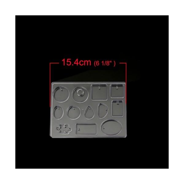 S110108033 PAX 1 Grand Moule en SILICONE 12 Formes Géométrique - Photo n°2
