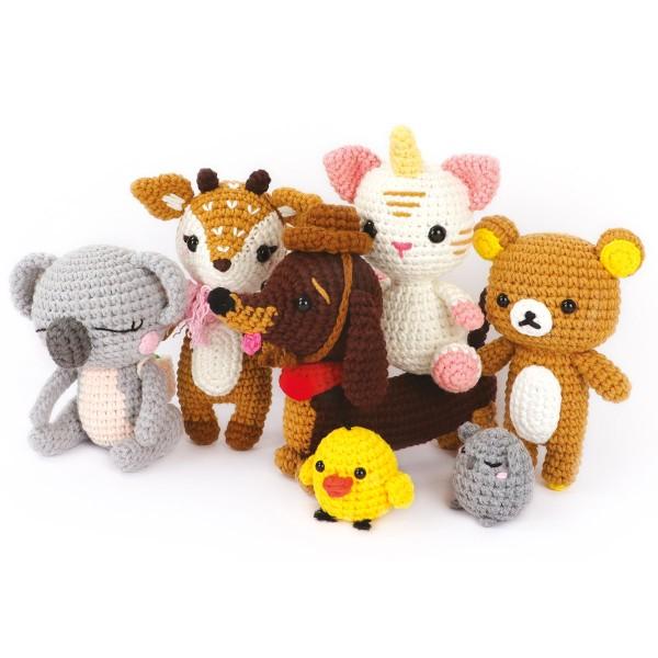 Kit Crochet Amigurumi - Teckel - 18 cm - Photo n°5