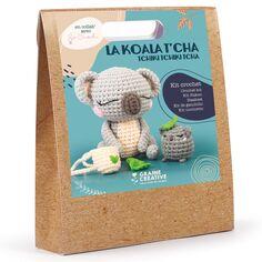 Kit Crochet Amigurumi - Koala - 12,5 cm