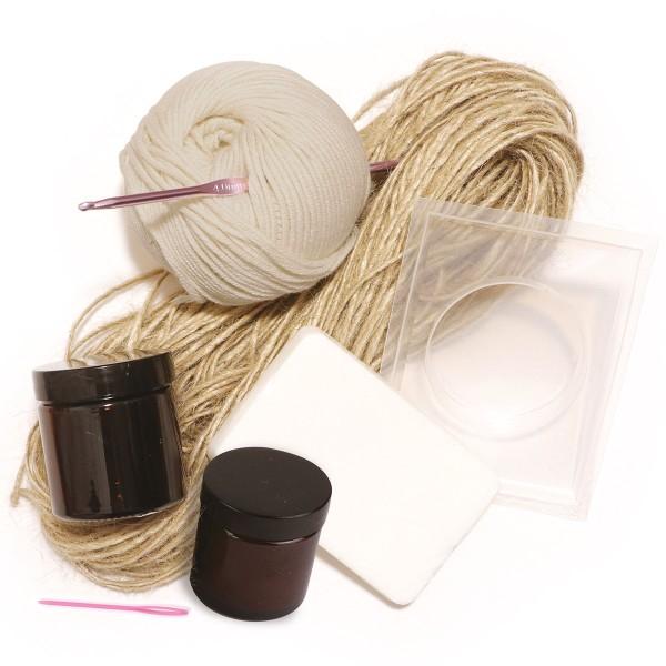 Coffret DIY zéro déchet - Fabriquer ses accessoires de salle de bain - 4 activités - Photo n°2