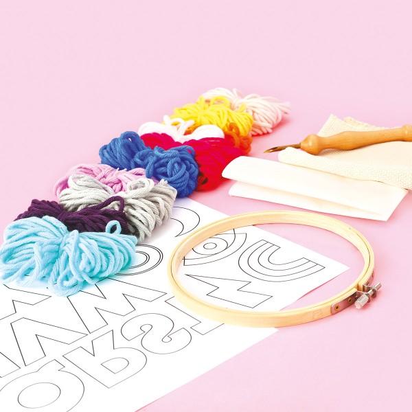Kit DIY Punch Needle - Les patchs - Photo n°3