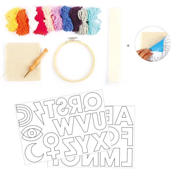 Kit DIY Punch Needle - Les patchs - Photo n°4