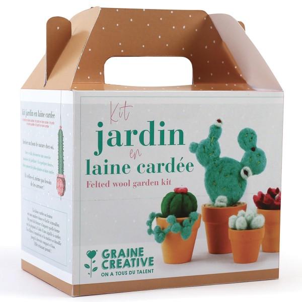 Kit DIY Laine cardée - Jardin - Photo n°4