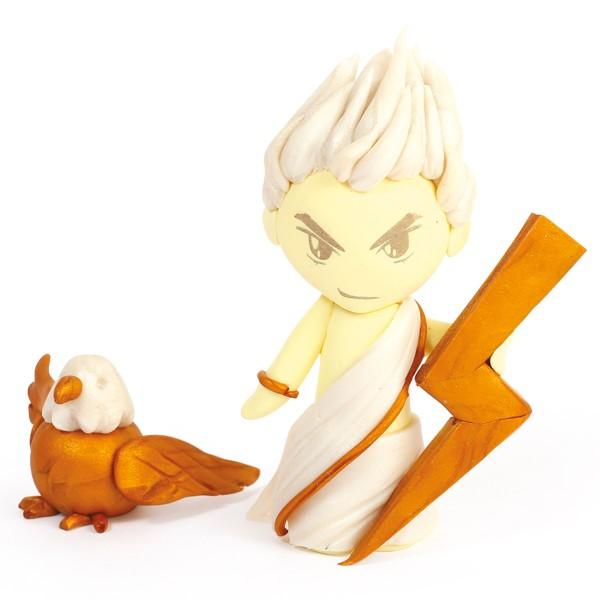 Mini Kit Fimo Les dieux de l'Olympe - Zeus - Photo n°2