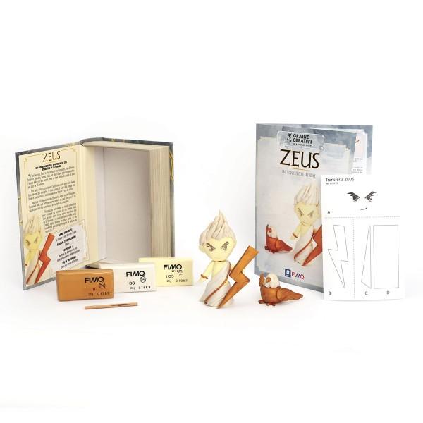 Mini Kit Fimo Les dieux de l'Olympe - Zeus - Photo n°3