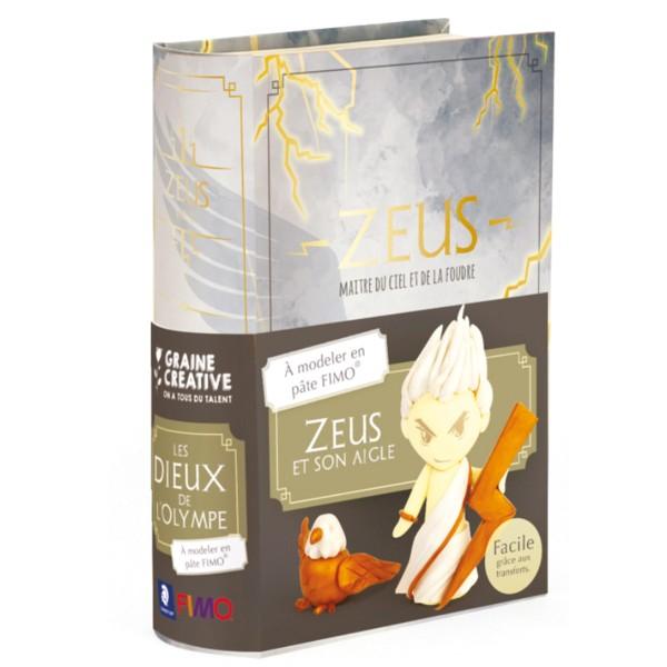 Mini Kit Fimo Les dieux de l'Olympe - Zeus - Photo n°6