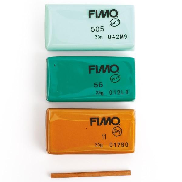 Mini Kit Fimo Les dieux de l'Olympe - Poséidon - Photo n°4