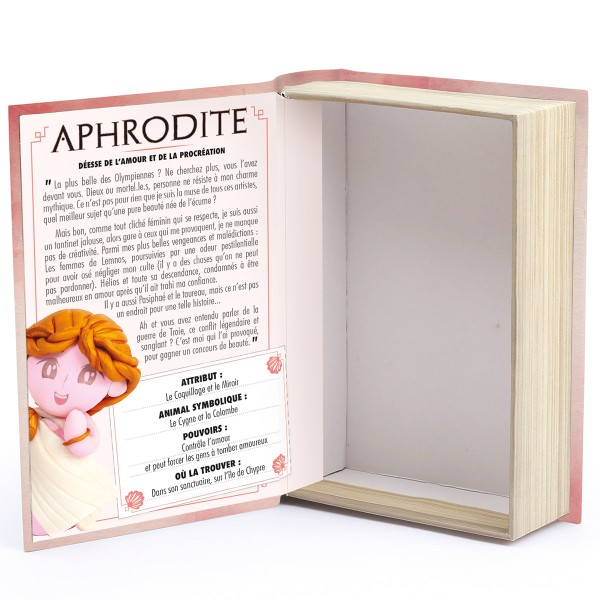 Mini Kit Fimo Les dieux de l'Olympe - Aphrodite - Photo n°5
