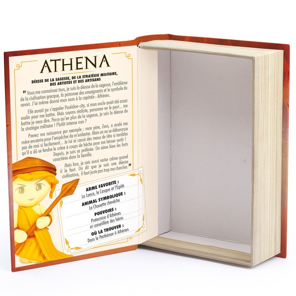 Mini Kit Fimo Les dieux de l'Olympe - Athéna - Photo n°5