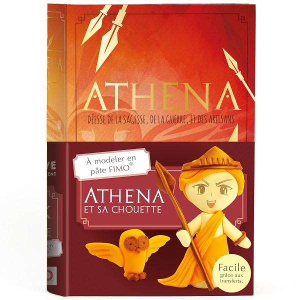 Mini Kit Fimo Les dieux de l'Olympe - Athéna - Photo n°1