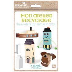 Kit créatif Mon atelier recyclage - Brique en carton