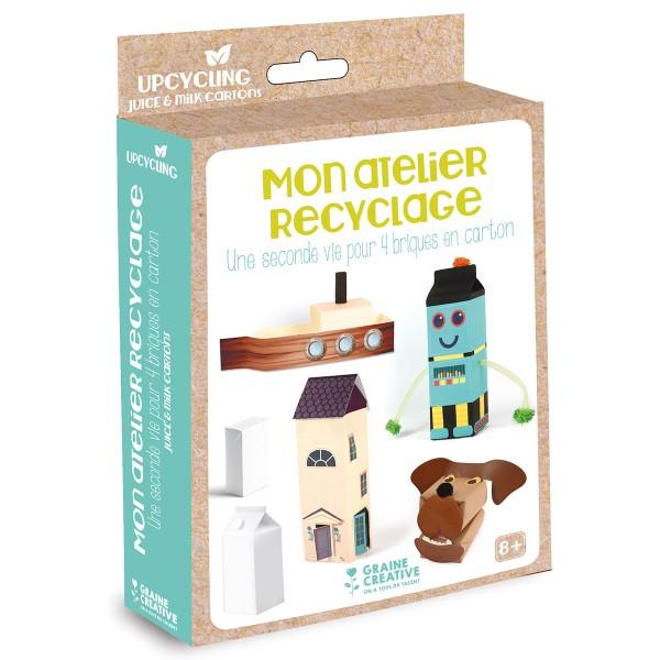 Kit créatif Mon atelier recyclage - Brique en carton - Photo n°6