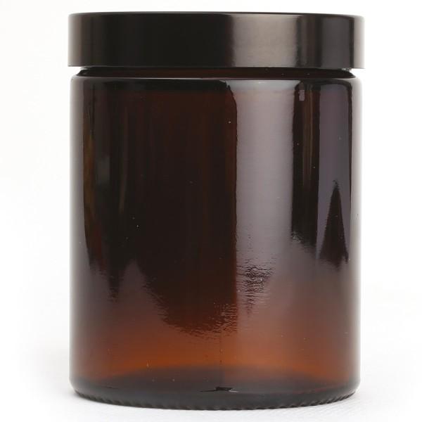 Pot en verre Ambré - Pommadier - 180 ml - Photo n°2
