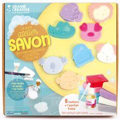 Kit Créatif - Le grand atelier savon - Animaux