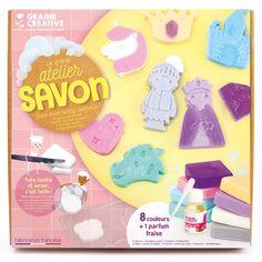 Kit Créatif - Le grand atelier savon - Conte de fée