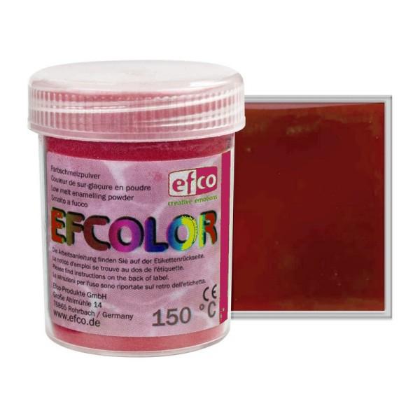 Poudre transparente Efcolor, coloris au choix, pour émaillage à froid, 25ml de sur-glaçure incolore, - Photo n°1