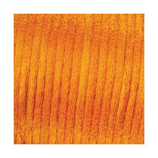 Lot de 3x6 m de Cordelette Ø 2mm, à tresser en satin 100% Polyester, sous blister - Photo n°1