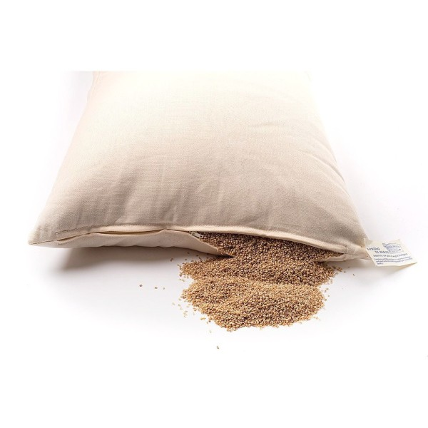 Écorces de Millet bio, sachet 200 gr, idéal pour le rembourrage - Photo n°3