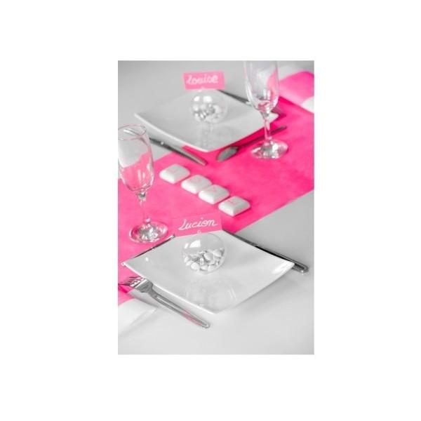Lot de 10 Médaillons de 7 cm en plastique cristal transparent séparable, Contenant alimentaire sécab - Photo n°3