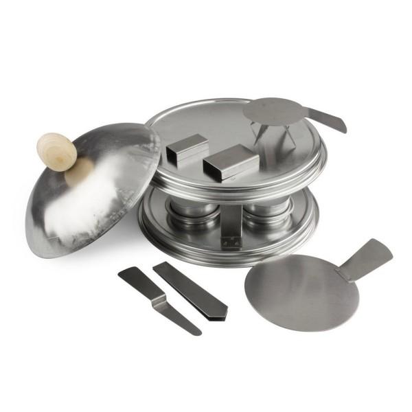 Four Efcolor avec accessoires, pour émaillage à froid, set de cuisson - Photo n°2