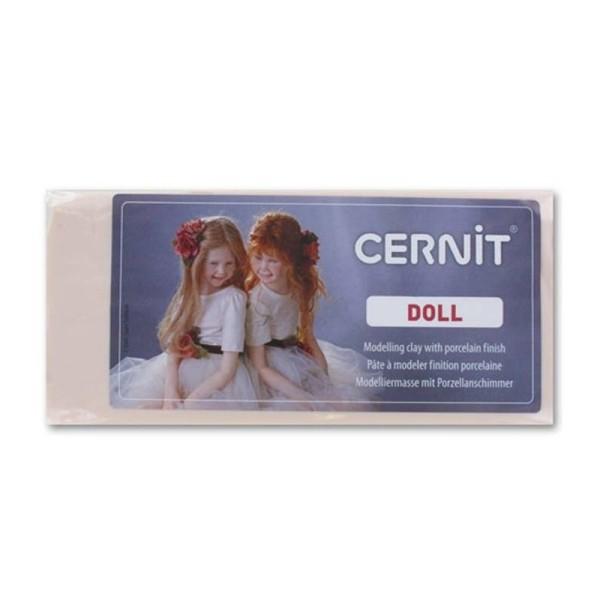 Pâte polymère Cernit Doll 500 gr, pour création de poupées, bébés, coloris au choix - Photo n°1