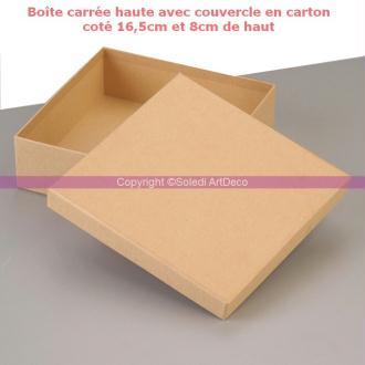 petite boite ronde haute diam 6 5cm x haut 4 5cm avec couvercle en carton d corer boite. Black Bedroom Furniture Sets. Home Design Ideas