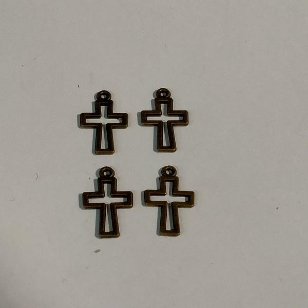 Breloque 4 Croix - Photo n°1