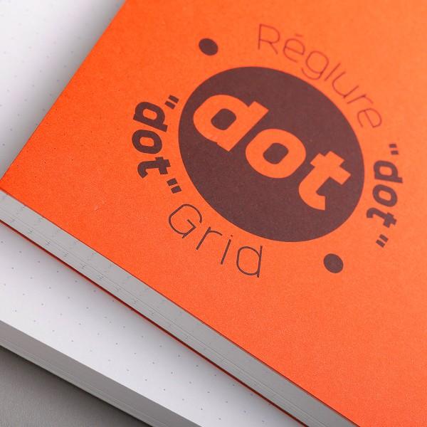 Bloc à dessin et croquis Graf'It Dot A5 - 90 gr - 160 feuilles - Photo n°3