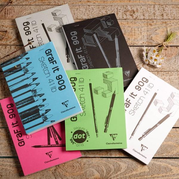 Bloc à dessin et croquis Graf'it Uni 90 g - A4 - 160 pages - Photo n°2