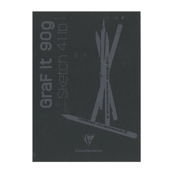 Bloc à dessin et croquis Graf'it Uni 90 g - A5 - 160 pages - Photo n°1
