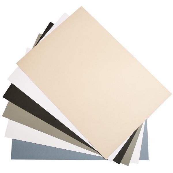Bloc Papier multi-techniques Paint'On Denim A5 - 250 g - 24 feuilles - Photo n°2