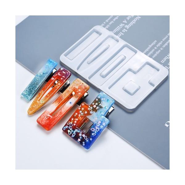 S11657412 PAX 1 Pince Barrette Crocodile métal coloris Doré - Photo n°2
