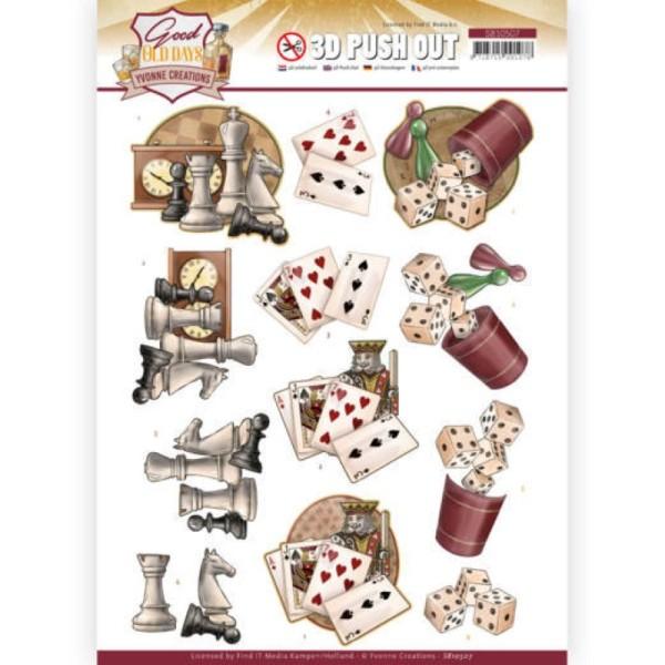 Carte 3D prédéc. - SB10507 - Good old day's - Jeux - Photo n°1