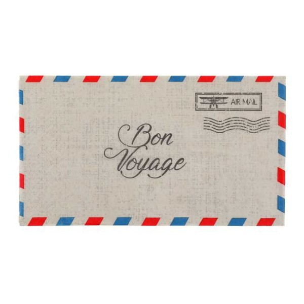 20 Serviettes en papier Bon Voyage - Photo n°1