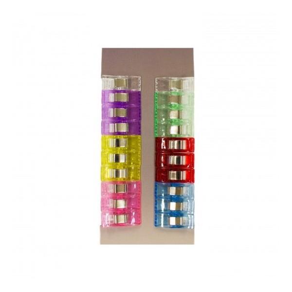 20 Pinces À Tissus, Clip Pour Couture 2,6cm X 1cm - Petite - Remplace Les Épingles Pour La Couture - Photo n°2