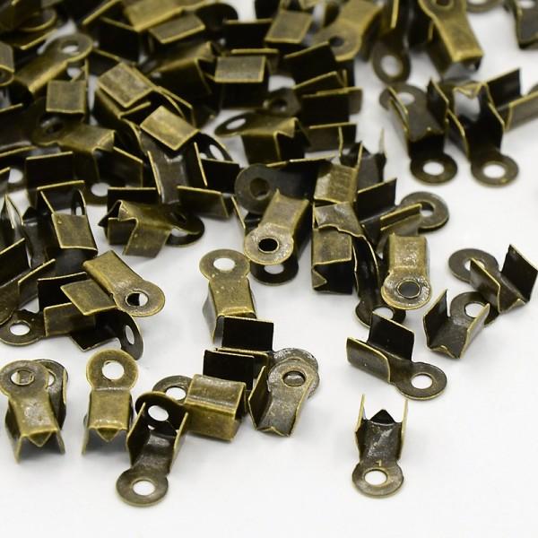 Embouts serre fil 6 x 3 mm bronze x 100 - Photo n°1