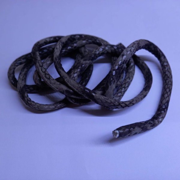 Tubularis 10mm * 150cm serpent gris/beige - Photo n°1