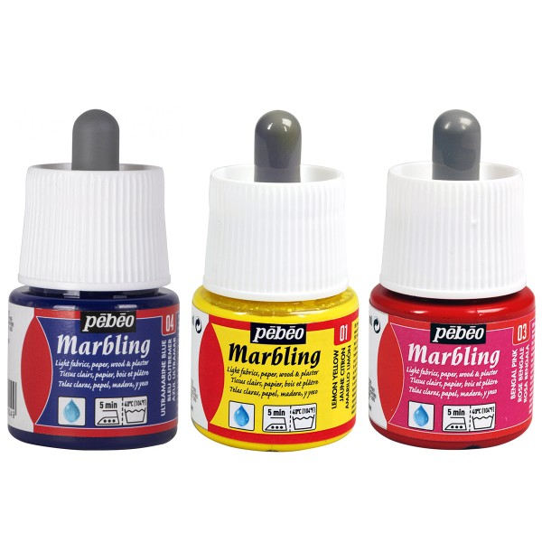 Peinture Pébéo Marbling - 45 ml - Plusieurs coloris disponibles - Photo n°1