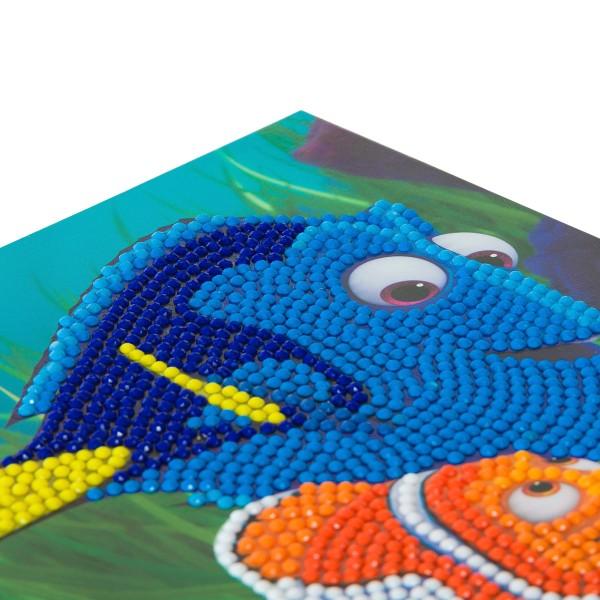 Kit Crystal Art Disney - Carte Némo - 18 x 18 cm - Photo n°3