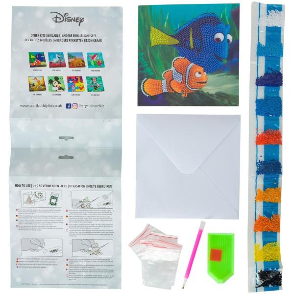 Kit Crystal Art Disney - Carte Némo - 18 x 18 cm - Photo n°4