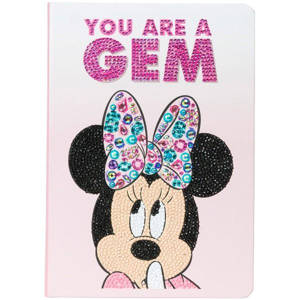 Kit Crystal Art Disney - Carnet Minnie - 26 x 18 cm - Photo n°5