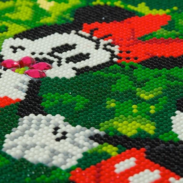 Kit Crystal Art Disney - Tableau Mickey & Minnie - 30 x 30 cm - Photo n°3
