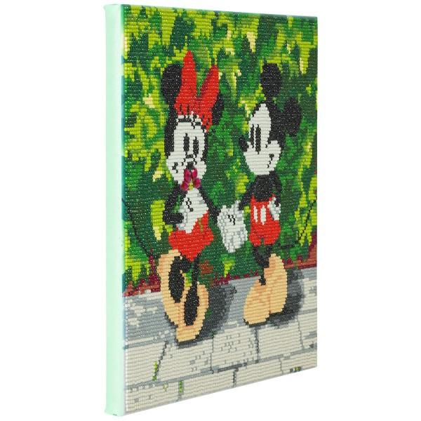 Kit Crystal Art Disney - Tableau Mickey & Minnie - 30 x 30 cm - Photo n°5